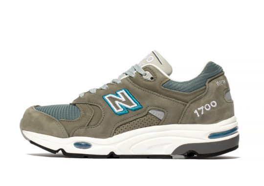 """The Typically-Made In Japan New Balance 1700 Appears In Classic """"Steel Blue"""""""