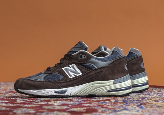 Fall-Ready Brown Lands On The New Balance 991 Made In U.K.