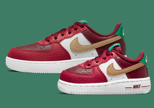 The Nike Air Force 1 Gets Into The Christmas Spirit With An Appropriate Colorway