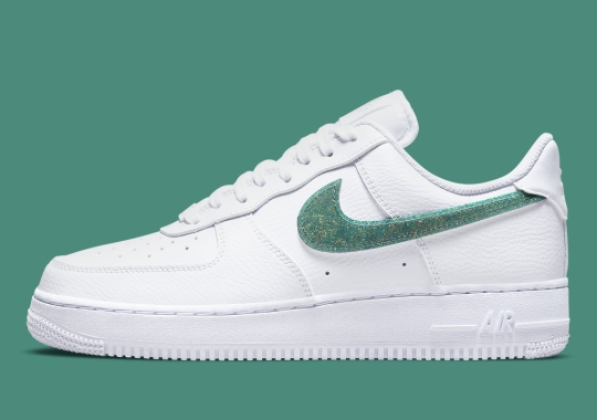 Glitter Swooshes Add Some Glitz This Nike Air Force 1 Low