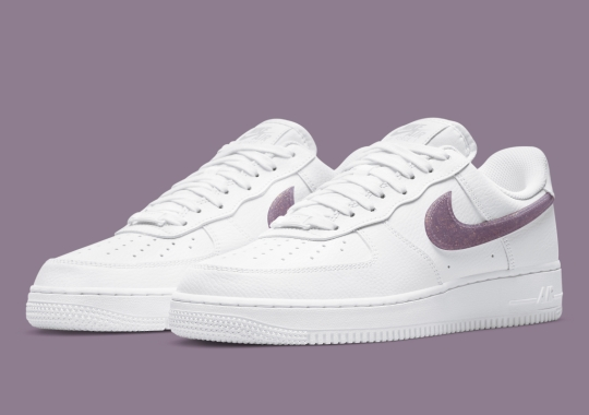 Another Glitter Swoosh Nike Air Force 1 Low Appears