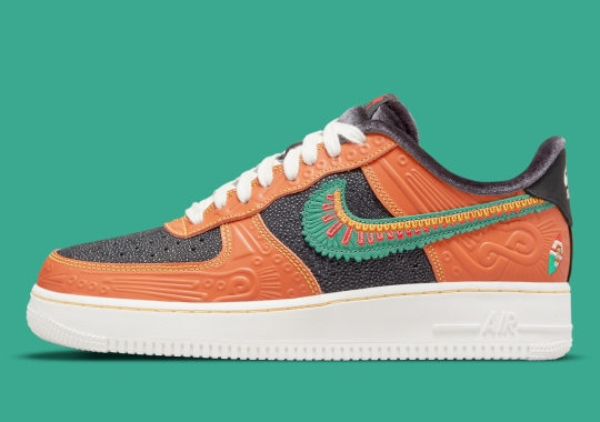 """Official Images Of The Nike Air Force 1 Low """"SiEMPRE Familia"""""""