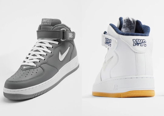 """Where To Buy The Nike Air Force 1 Mid """"NYC"""" Pack"""