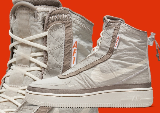 Nike Gears Up For Tumultuous Weather With The Air Force 1 Shell