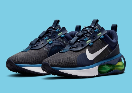 """Nike Brings """"Obsidian"""" And """"Brigade Blue"""" To The Air Max 2021"""