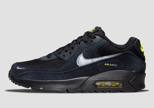 Nike's NOCTA-Reminiscent Air Max 90 Appears In GS Sizes