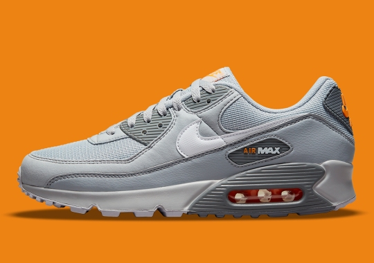 The Nike Air Max 90 Appears In An Industrial-Esque Colorway