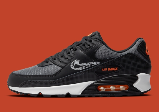 A 3D-Sketched Swooshes Appear On This Upcoming Nike Air Max 90
