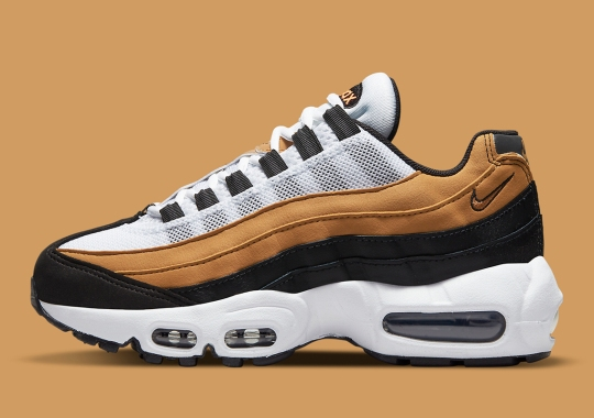 """The Nike Air Max 95 Recraft """"Wheat"""" Is Available Now"""