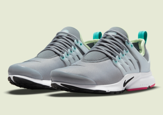 The Nike Air Presto Goes Grey For Women