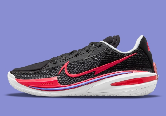 """Hits Of """"Fusion Red"""" Animate The Latest Nike Air Zoom G.T. Cut"""
