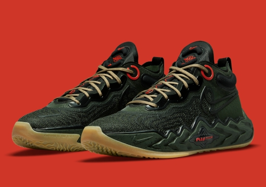 Military Green Lands On The Nike Air Zoom G.T. Run