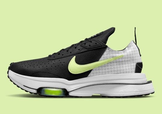 """The Nike Air Zoom Type Reappears With """"Barely Volt"""" Swooshes"""