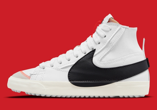 The Nike Blazer Jumbo Offers Its Best Off-White Imitation Yet