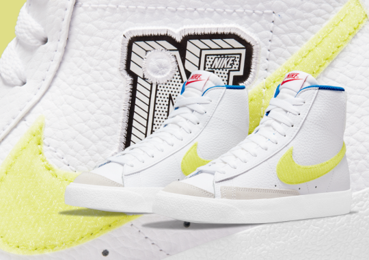 The Latest Nike Blazer Mid '77 For Kids Features Velcro Swooshes