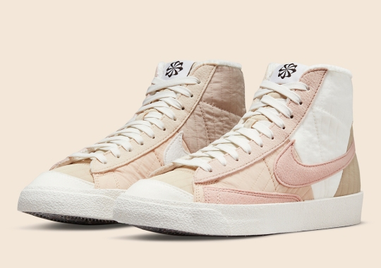 """The Nike Blazer Mid '77 """"Toasty"""" Appears In All Pink"""