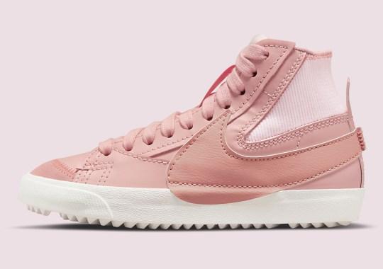 The Nike Blazer Jumbo Goes All Pink