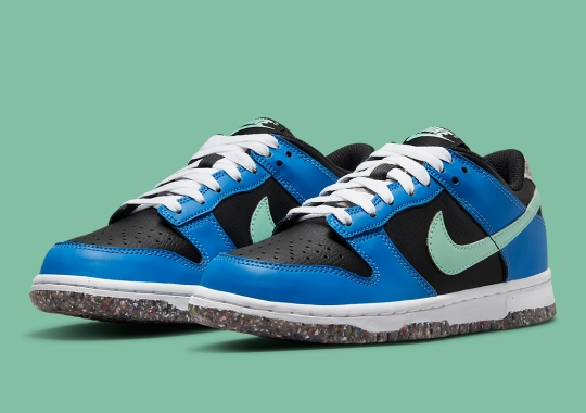 The Dunk Low Heads Into 2022 With Nike Grind Recycled Materials