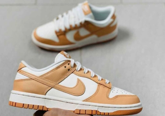 The Nike Dunk Low Adds A Touch Of Vachetta Tan To Its Latest Colorway