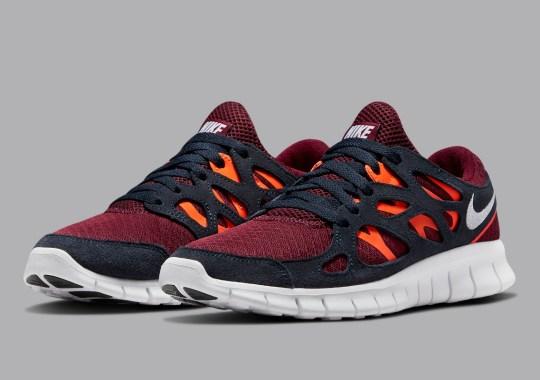 Orange Overlays Appear Across This Nike Free Run 2