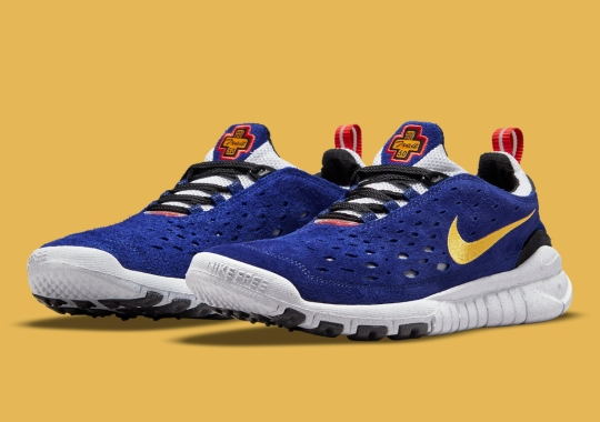 """The Nike Free Run Trail 5.0 Gets Dipped In """"Concord"""""""