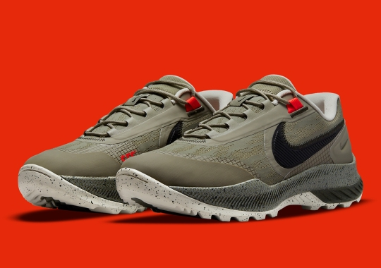 The Nike React SFB Carbon Low Delivers A Militaristic Styling