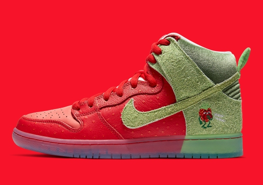 """Nike SB Dunk High """"Strawberry Cough"""" Finally Releasing On October 22nd"""