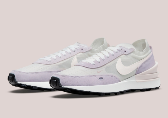 """""""Light Soft Pink"""" Accents Land On The Nike Waffle One"""