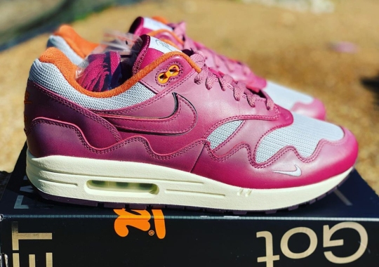 Patta x Nike Air Max 1 Revealed In New Purple Colorway