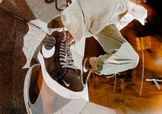 Barcelona's SKATEDELUXE Teases Upcoming Nike SB Blazer Mid Collaboration