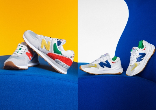 """STAUD And New Balance Dress Up The 574 And 57/40 For """"Classic Then, Classic Now"""" Collection"""