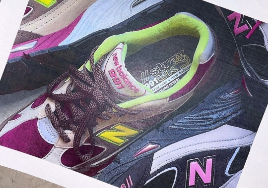 Stray Rats Teases Two Collaborative New Balance 991 Colorways