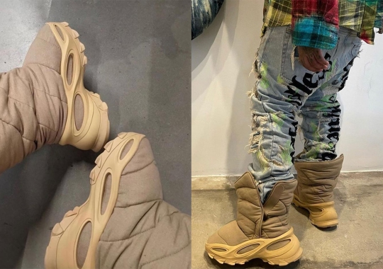 """Yeezy To Debut New YZY NSLTD Boot In """"Khaki"""" This November"""