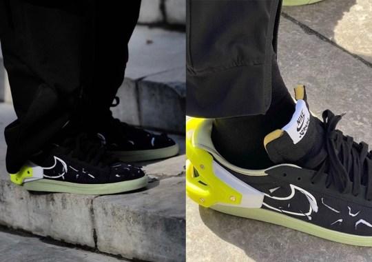 First Look At The ACRONYM x Nike Blazer Low