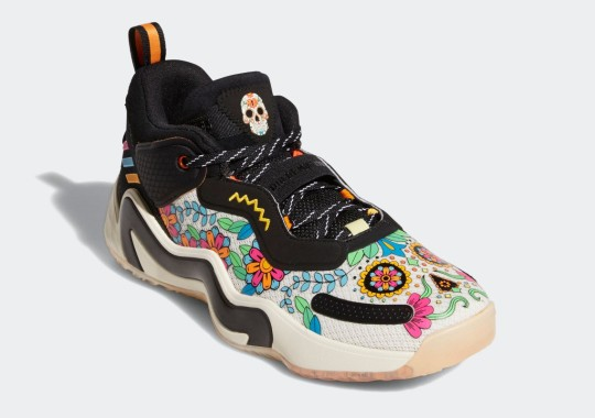 Donovan Mitchell's adidas D.O.N. Issue #3 Is Ready For Day Of The Dead