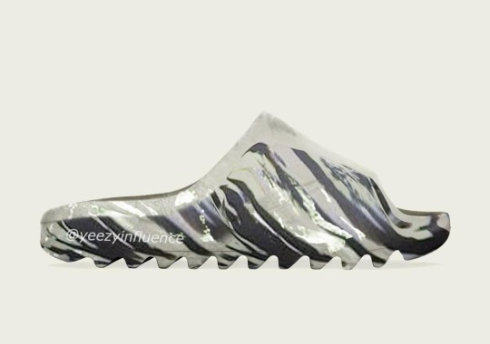 """Kanye West Expected To Bring """"MX"""" Styling To The adidas YEEZY SLIDE"""