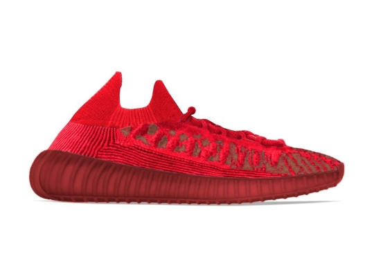 """The adidas Yeezy Boost 350 v2 CMPCT Appears In """"Slate Red"""""""