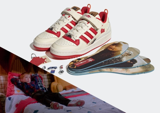 Operation HO HO HO: Home Alone And adidas Draw Up Plans For A Forum Low Collaboration