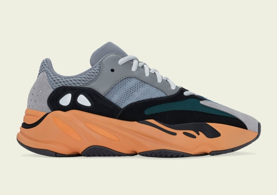 """Official Images Of The adidas Yeezy Boost 700 """"Wash Orange"""""""