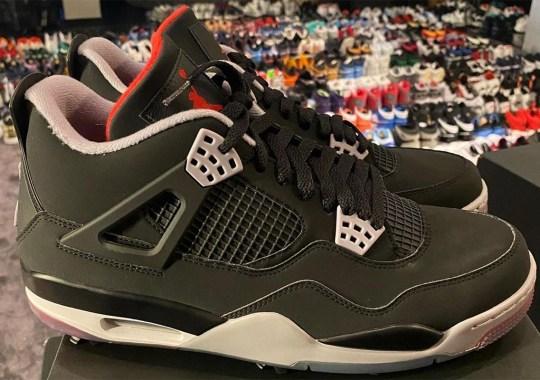 "Air Jordan 4 Golf ""Bred"" Expected December 2021"