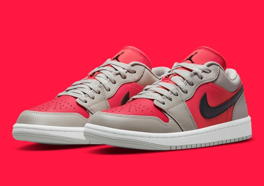 """More Lifestyle-Friendly Colorways Emerge With The Air Jordan 1 Low """"Light Iron Ore"""""""