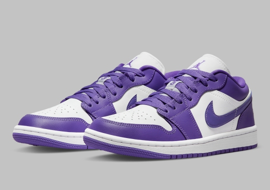 """""""Psychic Purple"""" Is Up Next On The Air Jordan 1 Low"""