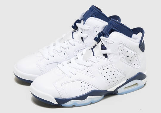 """The Air Jordan 6 """"Midnight Navy"""" Releases In Full Family Sizes This March"""