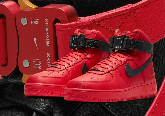 """ALYX Studio Draws Up Two Nike Air Force 1 High """"Chicago Bulls"""" For NBA 75th"""