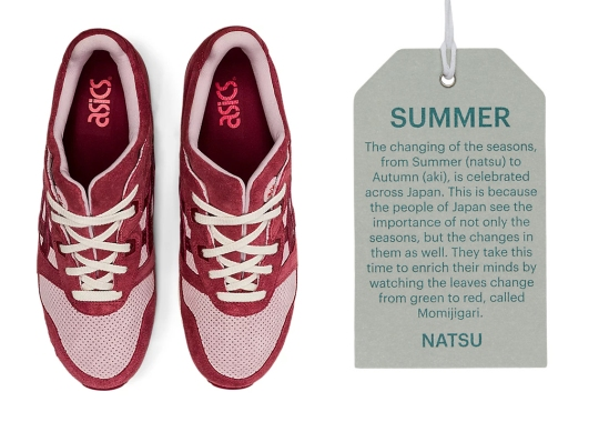 """The Latest ASICS GEL-Lyte III Duo Celebrates The """"Changing Of The Seasons"""""""
