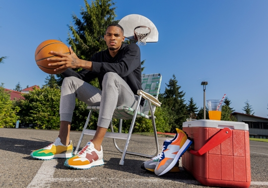 """Dejounte Murray Reminisces About His Hometown Of Seattle In Upcoming New Balance 327 """"Heat Up"""""""