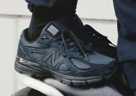 "The JJJJound x New Balance 990v4 ""Navy"" Will Release Again On Oct. 21st"