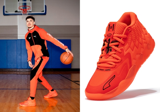 LaMelo Ball's First Signature Shoe, The PUMA MB.01, Releases In December