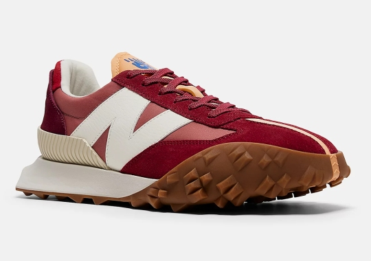 """New Balance XC-72 Marked With """"Washed Henna"""" Suede"""