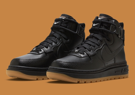 The Nike Air Force 1 High Utility 2.0 Is Arriving In Essential Black And Gum